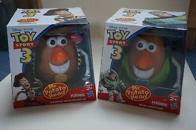 Mr Potato Head DISNEY PIXAR TOY STORY 3 WOODY'S TATER ROUND UP & SPUD LIGHTYEAR