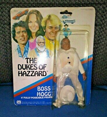 "The Dukes Of Hazard Boss Hogg 8"" Fully Poseable Figure Mego Corp"