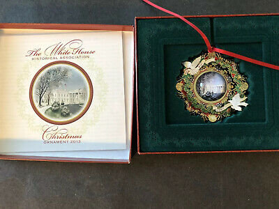 2013 White House Historical Association Christmas Ornament - Woodrow Wilson