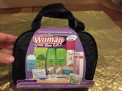 """❤️Convenience Kits International """"Woman On The Go"""" 14 Products + Bag Travel Kit"""