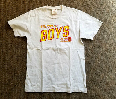 Rare Vintage BBC Billionaires Boys Club T-Shirt 17 of 75 Made In USA M.