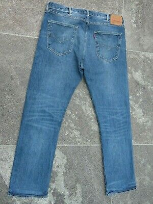 Levi's 501 Blue Stretch Jeans W 40 L 32 Very Good Condition!!!!!!!!!!!!!!