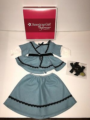 American Girl Doll Addy's Blue School Outfit ~ Brand New in Box Retired