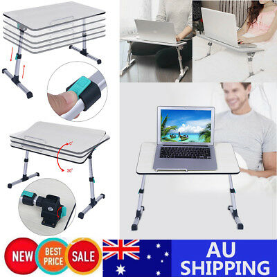Portable Foldable Adjustable Mobile Desk Laptop Study Desk Stand Bed Table Tray