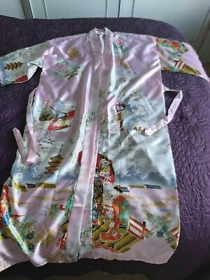 Ladies chinese robe/dressing gown