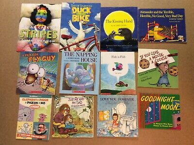 Bedtime Picture Books Children's Reading Lot 12 Shannon Mo Willems Tedd Arnold