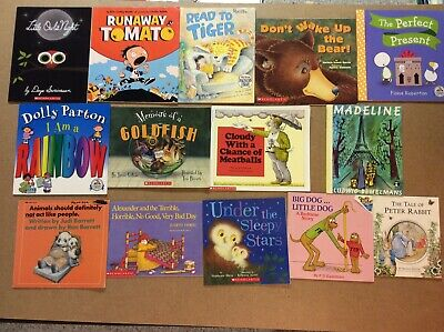 Bedtime Picture Books Children's Reading Lot of 14 Story Time Daycare Library