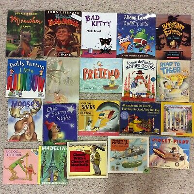 Bedtime Picture Books Children's Reading Lot of 20 Story Time Daycare Library