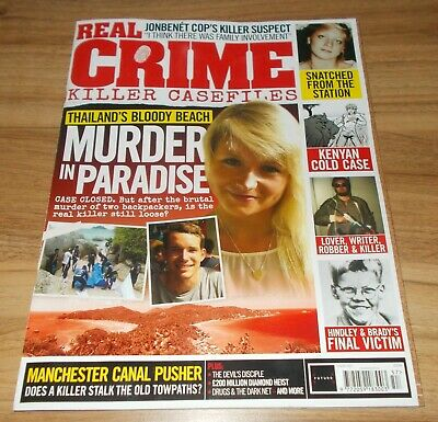 Real Crime Magazine - Murder In Paradise Front Cover
