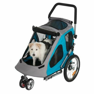 Dog Cat Smart 2 in 1 Bike Trailer Buggy Up To 30kg