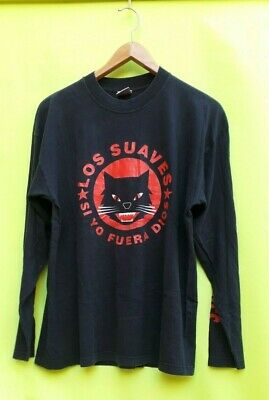 Vintage Rare T shirt los suaves si yo fuera dios Double Sided Size L