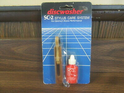 Discwasher SC-2 Stylus Care System for optimum stylus performance