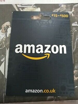 £50 Amazon.co.uk GIFT CARD / VOUCHER