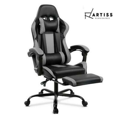 RETURNs Artiss Gaming Office Chair Computer Chairs Leather Seating Racing Racer