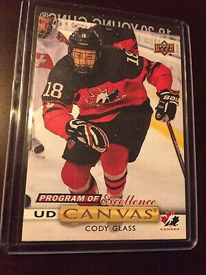 2019-20 19-20 Upper Deck Series 2 Cody Glass Program Of Excellence UD Canvas