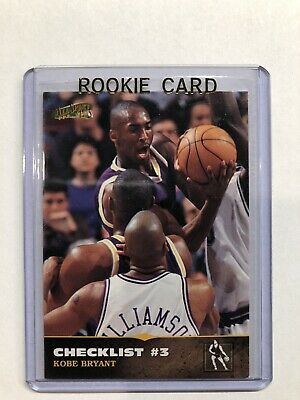 96-97 Kobe Bryant All Sport PPF Plus Rookie Card