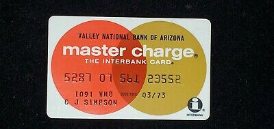 Valley National Bank of Arizona exp 1973♡Free Shipping♡ cc779