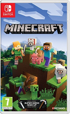 Switch-Minecraft: Nintendo Switch Edition /Switch (UK IMPORT) GAME NEW