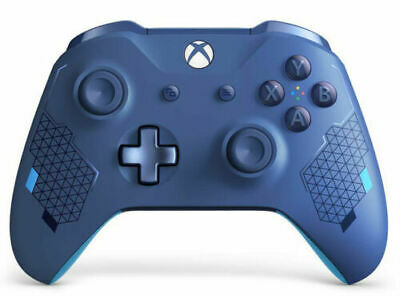 Microsoft Xbox Wireless Controller kabellos Gamepad Gaming Sport Blue Special