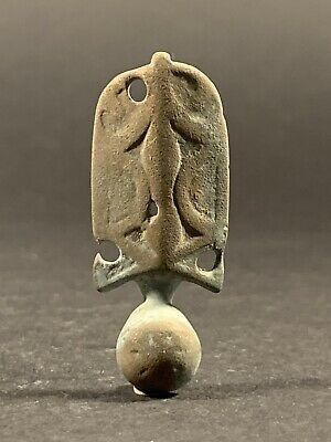 Rare Ancient Roman Bronze Ear Cleaner Featuring Nice Detailing - Circa 200-400Ad