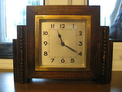 French Art Deco clock, Fully working, Lovely condition for age.