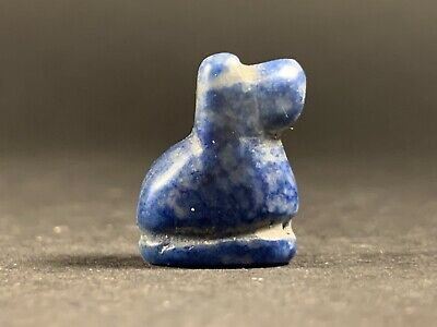 Beautiful Ancient Greek Lapis Lazuli Gemstone Carved Animal - Circa 100Bc-100Ad