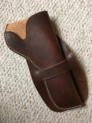 Old West Cowboy Leather Holster Reenactor Reenactment