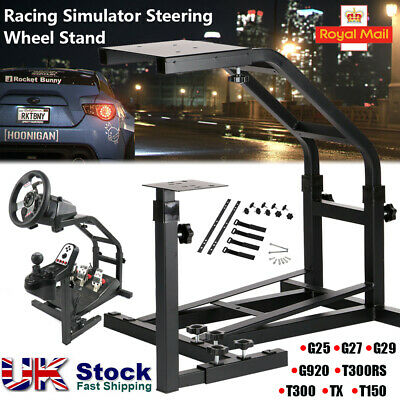 Steel Racing Simulator Steering Wheel Stand for Logitech G25 G27 G29 G920 T300RS