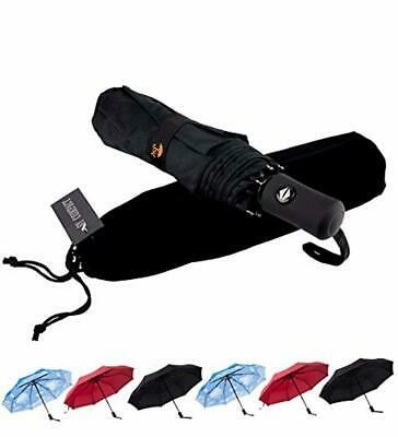 SY Compact Travel Umbrella Windproof Automatic Unbreakable -Factory Direct High