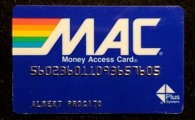 MAC Card Provident National Bank♡Free Shipping♡ cc959