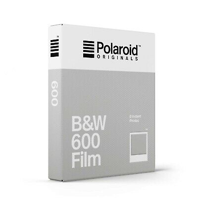 Polaroid Originals Black and White (B&W) Instant Film for use with 600 Cameras