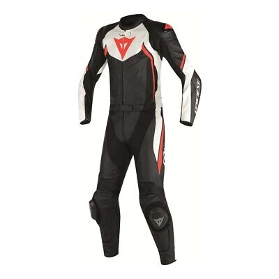 Dainese Avro D2 black white red 2PCS Suit- Free shipping!