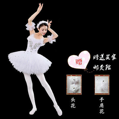 Dance Ballet Skirt child Adult Performances Dress Star