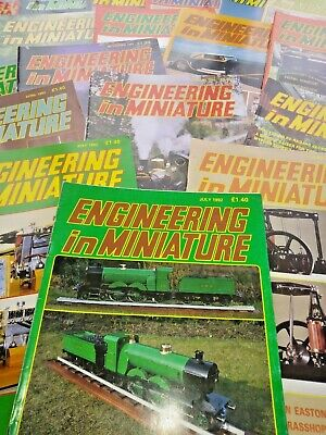 Engineering in Miniature magazines 1990 to  2006