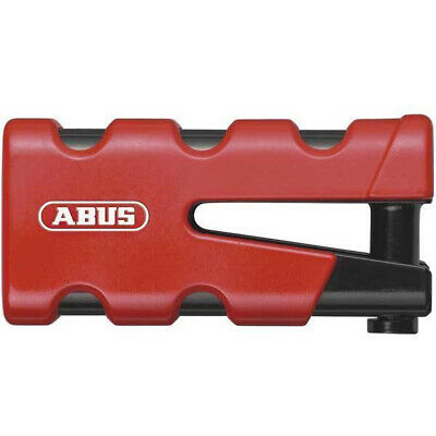 #c Abus Granit Sledg 77 Grip Red Disc Lock 13 / 45mm