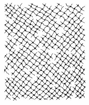 NETTING BACKGROUND Clear Magic Stamp Woodware