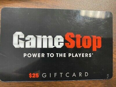 $25.00 Game Stop Gift Card