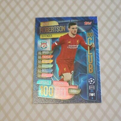 Topps - Match Attax: Extra - 2019/20 CL / EUR - #CLU3 Andrew Robertson x 1