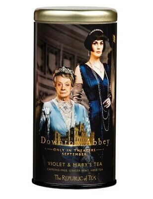 Victorian Trading Co Downton Abbey Violet & Mary's Ginger Mint Herbal Tea