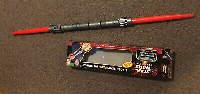 Hasbro Star Wars Episode I Electronic Darth Maul Double-Bladed Lightsaber w/ box