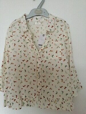 Lovely Girls Cropped Blouse NEXT Size 10 Years BNWT