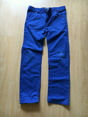 TU, Boys', Straight Leg, Cobalt Blue, 100% Cotton Jeans, 146cm, age 11 Yrs