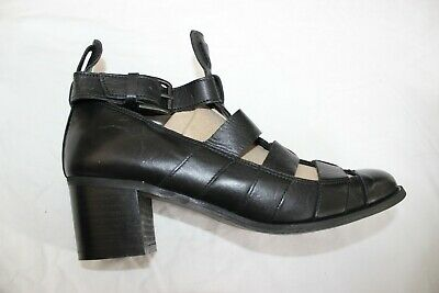 Next Shoes Size 5 UK 38 EU BNWOT NEW Shoes Black Leather  Heels