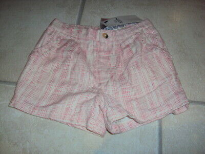 Bnwt Pink & Cream Marks & Spencer (M&S) Shorts, Age 4-5 Years