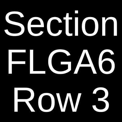 4 Tickets Parkway Drive 8/26/20 1stBank Center Broomfield, CO