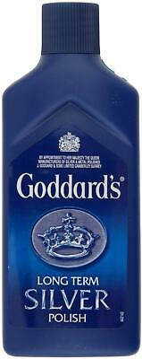 Goddard's Long Term Silver Polish Clean Jewellery Cleaner Protect & Shine 125 Ml