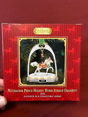 Breyer 2009 Nutcracker Prince Stirrup Christmas Ornament