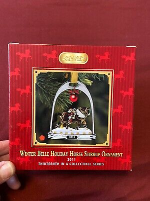 Breyer Winterbelle Stirrup Ornament Christmas 2011