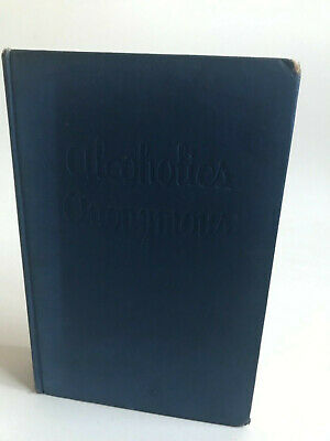 Alcoholics Anonymous 1st edition 2nd printing aa big book