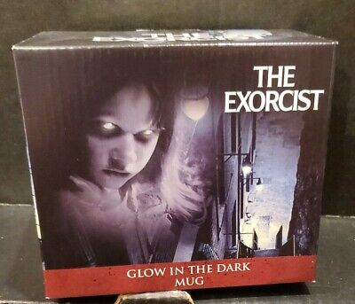 Culturefly Exclusive Horror Haul The Exorcist Glow In The Dark Coffee Mug Cup
